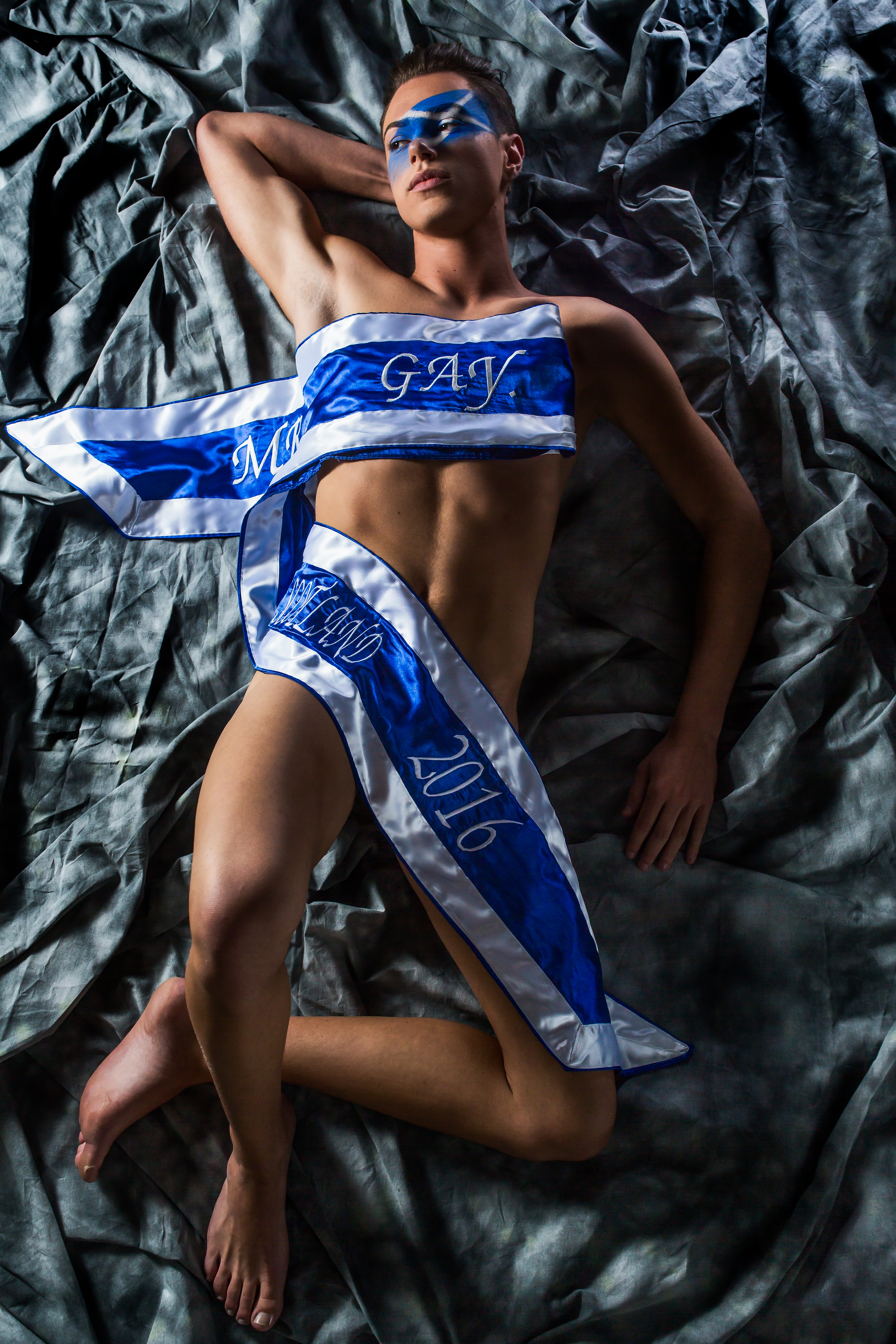 Jamie Love Mr Gay Scotland