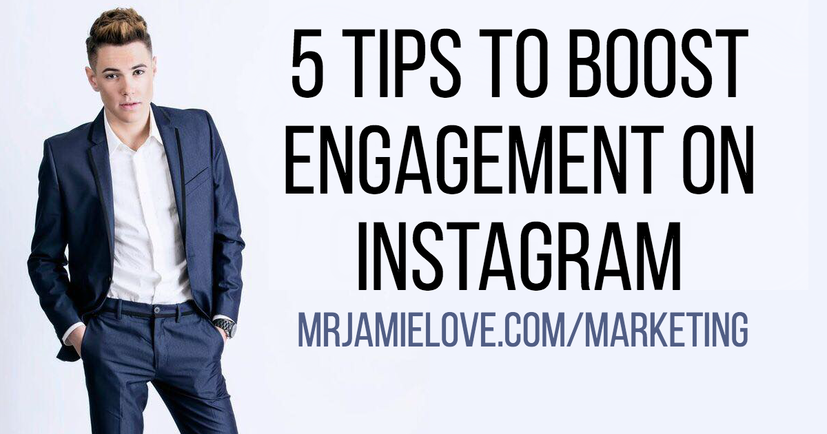 5 Tips to boost engagement on instagram